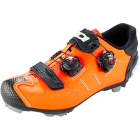 Sidi MTB Dragon 5 SRS Shoes Herre matt orange/black